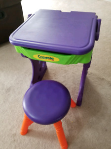 Crayola Kids Desk with Chair