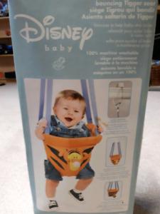 Disney Tigger doorframe jumper swing