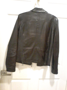 Two jackets size small  boots size 7 black  Sneakers size 8 5