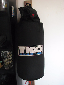 Selling TKO Boxing Bag with Century MMA Gloves! NEED GONE QUICK!