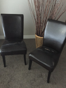 2 Parsons Chairs