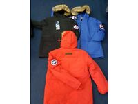 CANADA GOOSE JACKETS - COATS - MEN - KIDS