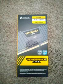 Corsair Vengeance LPX DDR4 1x8GB 2400MHz Ram (unsealed, BRAND NEW)