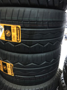 Two Brand New 265 / 30 R19 Continental Contiforce Contact Tires