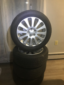16 inch wheels and tires for sale 5x100 bolt pattern