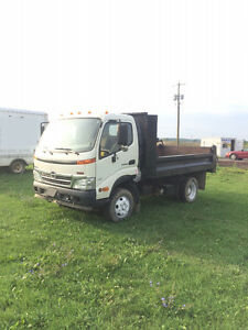 2009 HINO 155 Diesel Auto 11' Dump Box G License Dump Truck