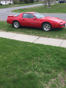 1989 Firebird Formula with Safety and Valid E test