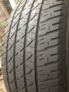 2 Firestone Summer tires 215-60-16