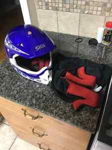 Motocross youth XL Helmet and Fox pee wee Chest Protector Peterborough Peterborough Area image 4