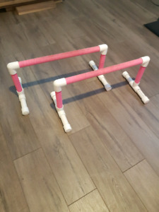 Gymnastics mat and p bars, perfect quality