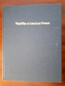 Who's Who of American Women 1985-1986