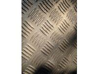 6mm aluminium tread / chequer plate