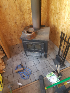 Wood Stove For Sale, Good Condition
