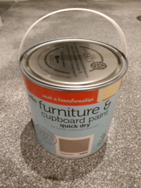 Grey furniture and cupboard paint