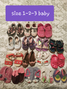 Baby girl- toddler shoes $5 or less each