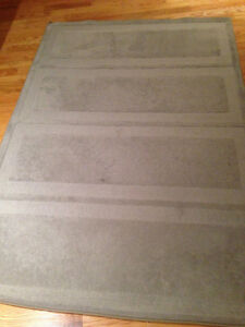 Tapis Gris Hoven IKEA