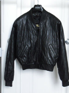 Leather Bomber Style Jacket from Danier - Great Condition