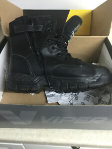 Police/Fire/Security steel toed boots