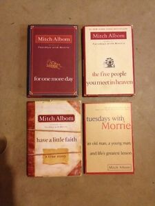 MITCH ALBOM books, Tuesdays with Morrie....$7.00