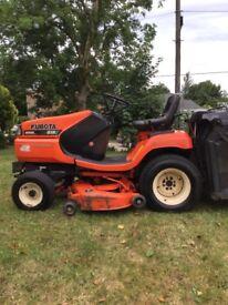 Kubota G18 pro Diesel rideon lawnmower
