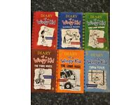 Diary of A Wimpy Kids books