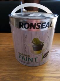 Ronseal garden paint 2.5L