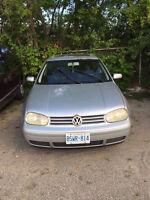 2001 Volkswagen GTI Coupe (2 door)
