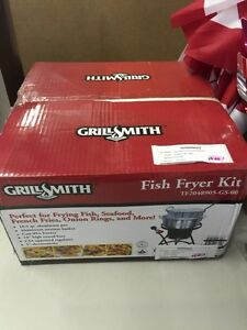 Grill Smith Fish Fryer 10.5qt