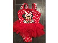 NEW Swimsuit Disney Minnie Mouse 12-18 months