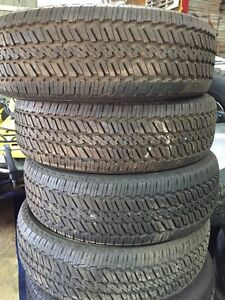 New 245/70R17 General All Season Tires $700