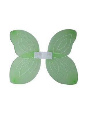 Adult Green Fairy Wings Silver Glitter Fancy Dress Christmas Halloween - Fairy Glitter Kostüm