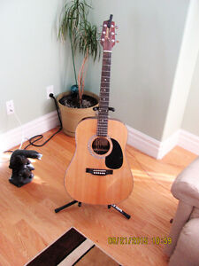 JUST IN TIME FOR GIFT GIVING NEW ACOUSTIC GUITAR