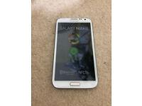 Samsung Galaxy Note 2 Brand new condition !! Unlocked white 16 GB