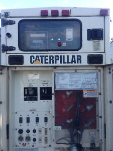 125 KW Cat Generator 3304 cat diesel fully enclosed silenced cab