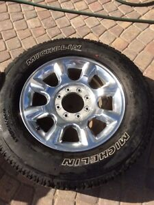F-350 rims and tires