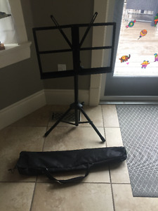 Folding Music Stand with Carrying bag