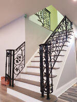 We build Wrought Iron Railings and Fences
