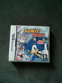 Sonic rush Nintendo ds game