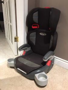 FREE BOOSTER SEAT / CAR SEAT with 2 drink holders (used)