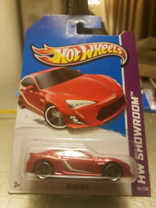 Hot wheels Scion FRS red