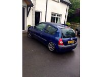 For parts 2002 Clio 1.2 16v