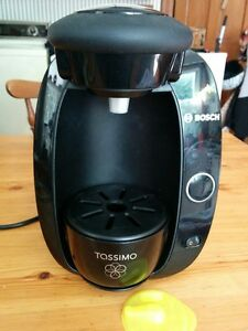Bosch Tassimo with Chrome T Cup holder