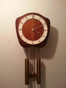 Vntage German FORESTVILLE weight driven clock