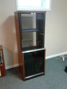 Tall Boy Stereo Cabinet