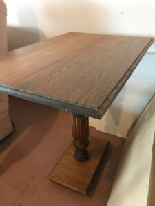 Vintage Pedestal Table $50 OBO