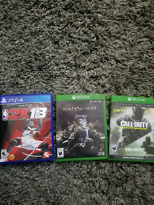 Ps4 and xbox games
