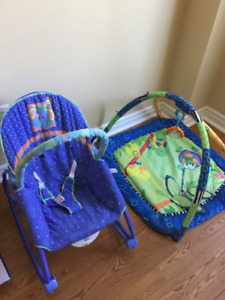 Rocking Chair and Play Activity Gym