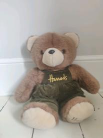 Harrods large annual limited edition teddy bear