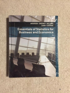 Essentials of Statistics for Business and Economics- SEALED