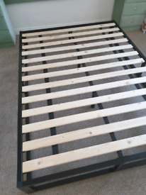 Immaculate Double bed frame and mattress